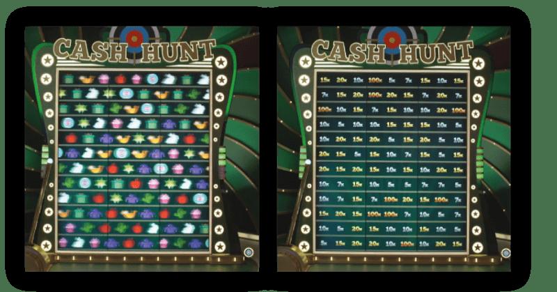 Cash-hunt-bonus-spel-zoek-de-multiplier