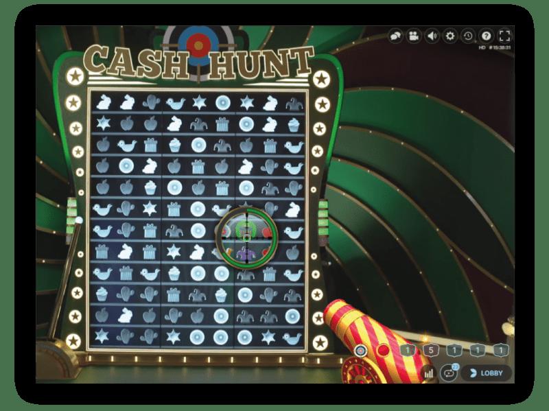 Cash-hunt-kanon-richten-op-de-bonus