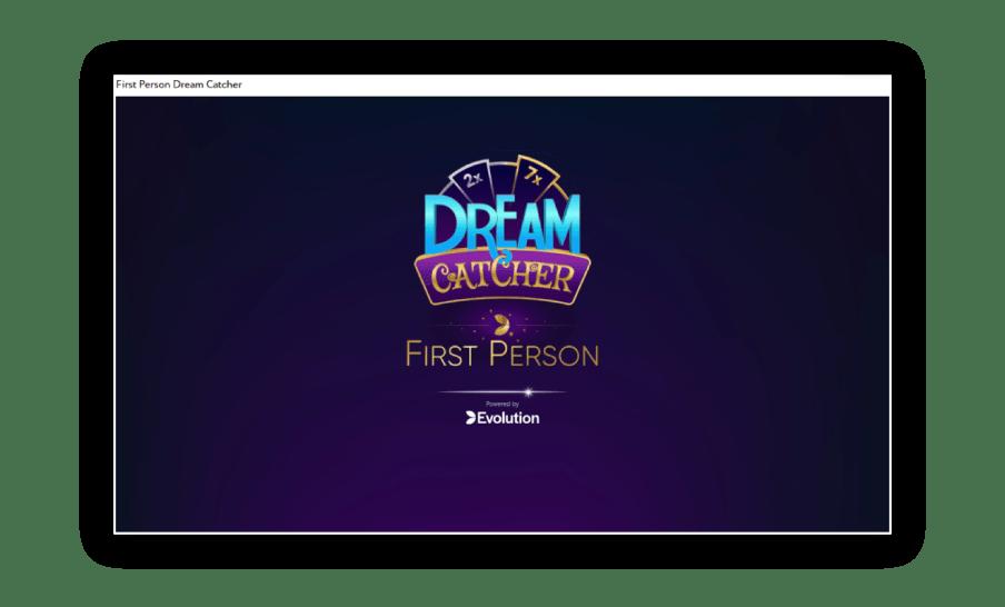 Dream-catcher-first-person-is-de-versie-zonder-live-dealer