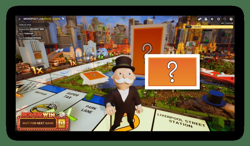 bonus-spel-bij-monopoly-met-een-kanskaart