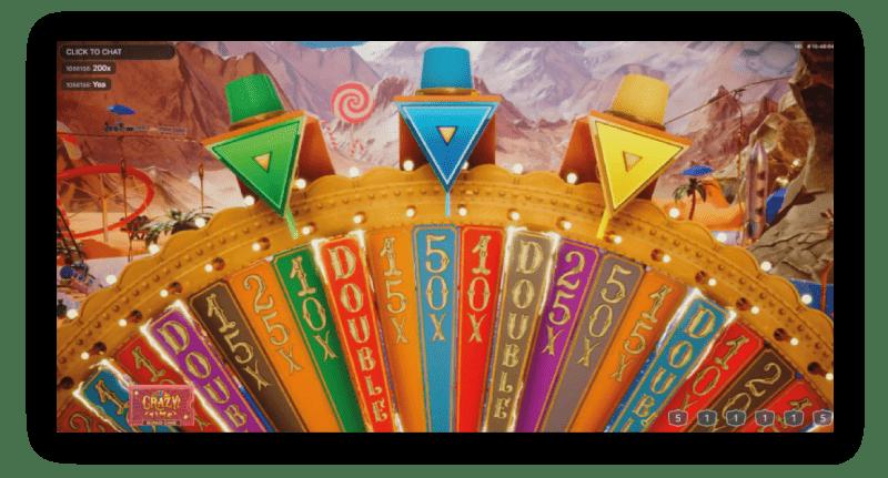 crazy-time-bonus-rad-met-groen-blauw-en-geel