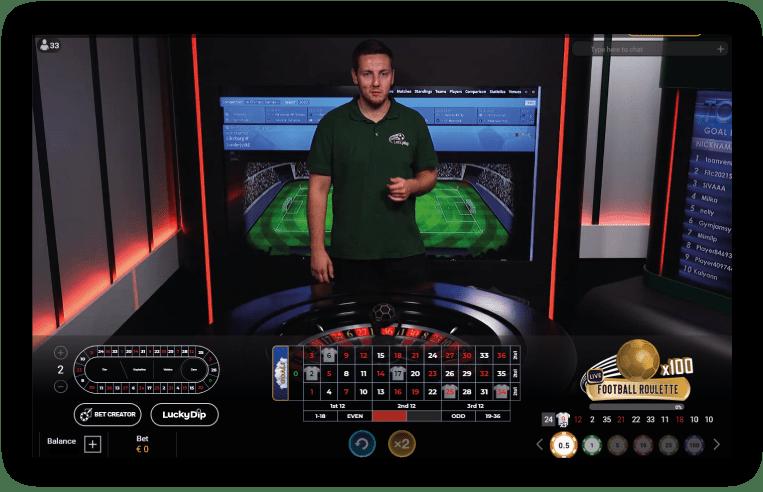 football-roulette-live-casino-spel-met-live-dealer