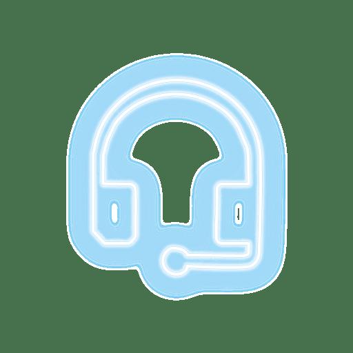 klantenservice-icon-neon-live-casino