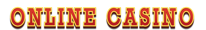 Online casino in theater letters
