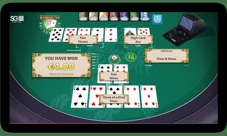 pai-gow-poker-speler-wint-met-full-house