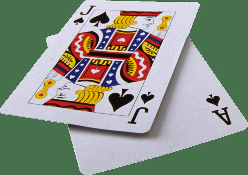 schoppen boer en schoppen aas is 21 of blackjack-min